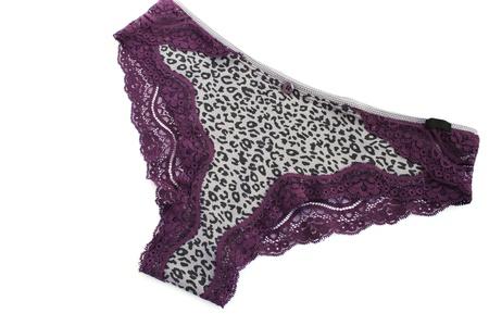 Stylish panties isolated on white background. Stock Photo - 14110900