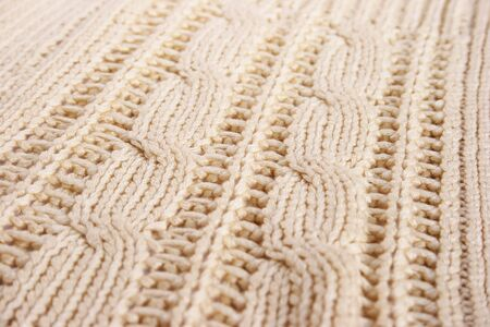 Knitted cloth as a background. Stock Photo - 16989245