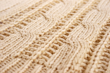 Knitted cloth as a background  photo