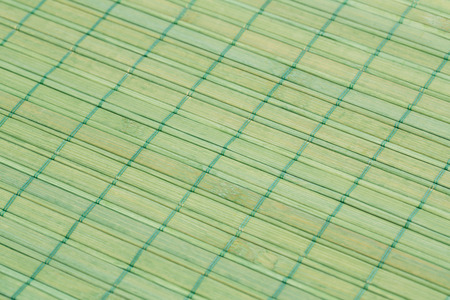 placemat: Bamboo placemat texture for background, close-up image.