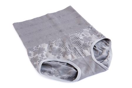 belly bandage: Supporting bandage isolated on white background.