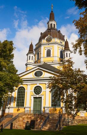 katarina: Church of Catherine (Katarina Kyrkja) at Sodermalm island in Stockholm, Sweden.