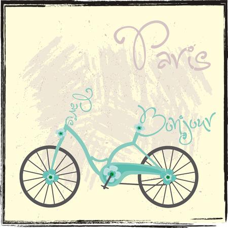 butterfly stationary: Paris Bike