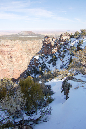 Beautiful vistas  from the Grand Canyon