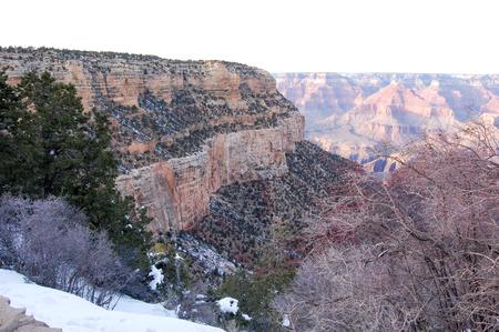 Mooie vergezichten van de Grand Canyon Stockfoto