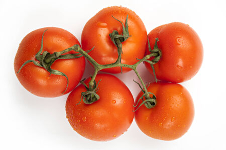 Red tomatoes - five photo