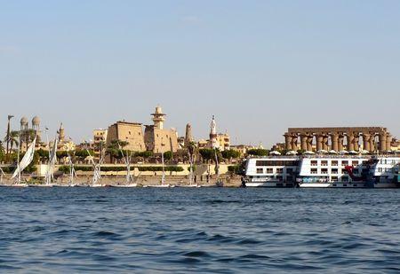 Nile, Luxor, Egypt