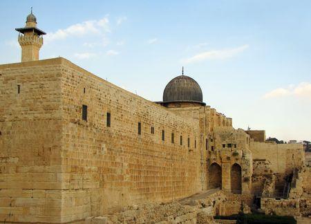 prayer tower: Jerusalem � old city