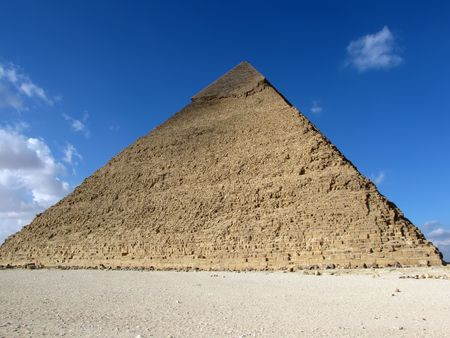 chephren: Pyramid of Khafre (Chephren), Egypt