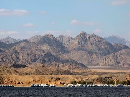 judaism: Sinai mountains, Sharm El Sheikh, Egypt