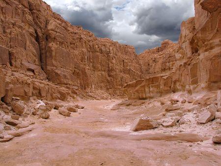jaskinia: Pokolorowane Canyon, Synaj, Egipt                                Zdjęcie Seryjne