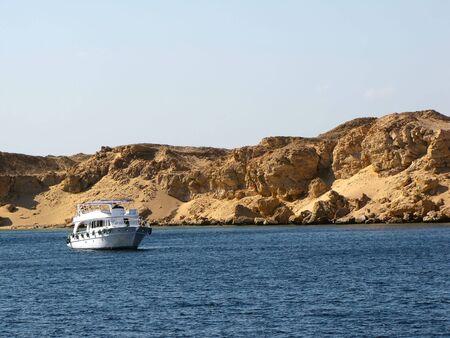 naama bay: Sea walk                                Stock Photo