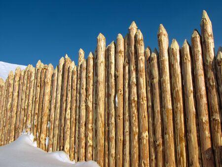 paling: Wooden paling