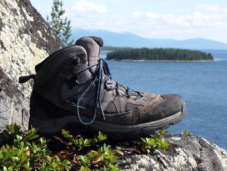 Trekking boot Stock Photo - 7367060