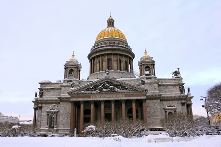 St. Isaac's Cathedral, St. Petersburg, Russia Stock Photo - 8462526
