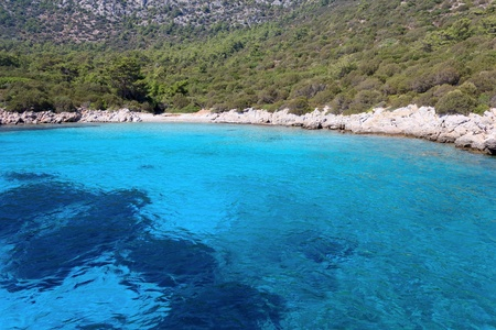 Aegean coast near Bodrum, Turkey photo