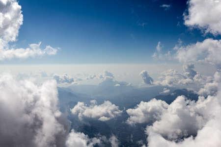 La vista sulla cima del Monte Tahtali, Turchia Archivio Fotografico