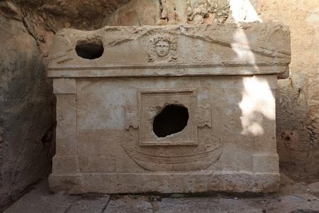Sarcophagus of Captain Eudemos, Olympos, Turkey