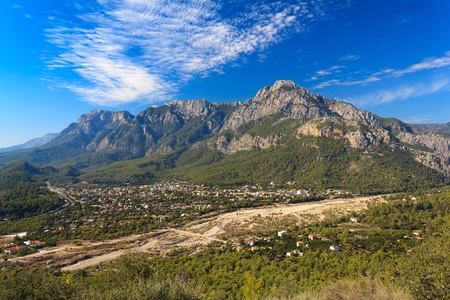 Taurus Mountains in Goynuk, Turkey Stock Photo - 11512667