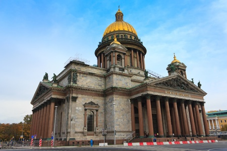 isaac s: Isaac s Cathedral in St. Petersburg , Russia