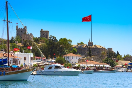 Bodrum castle, Turkey  photo