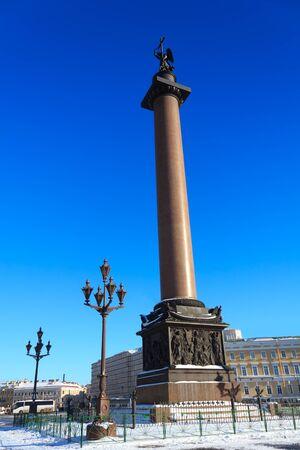 Alexander Column, St Peterburg, Russia Stock Photo - 12844761