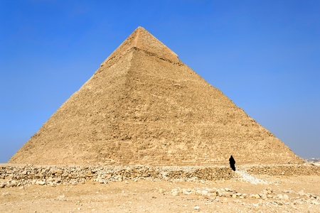 Pyramid of Khafre  Chephren , Egypt photo