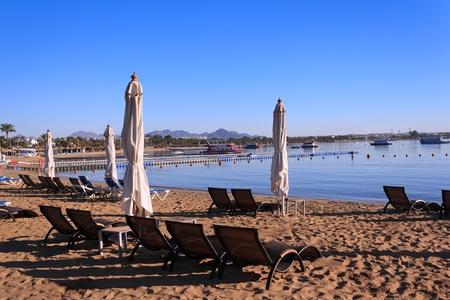 naama bay: Naama Bay in Sharm El Sheikh, Egypt  Stock Photo