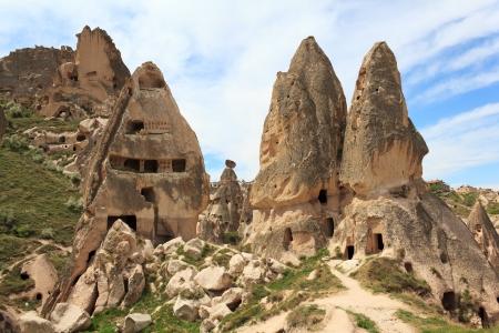 Unique geological formations, Cappadocia, Turkey