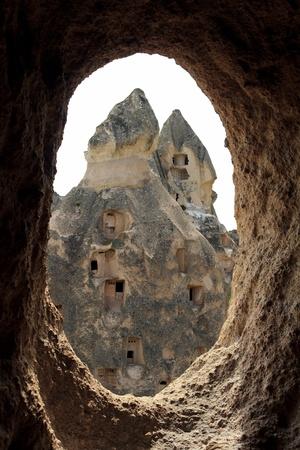 Unique geological formations, Cappadocia, Turkey photo