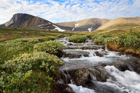 The Mount Fersman, Khibiny, Russia Stock Photo - 15060669