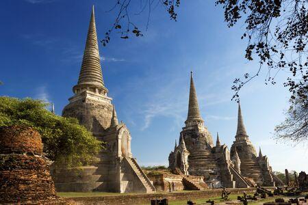 Wat Phra Sri Sanphet Temple, Ayutthaya, Thailand Stock Photo - 17435430