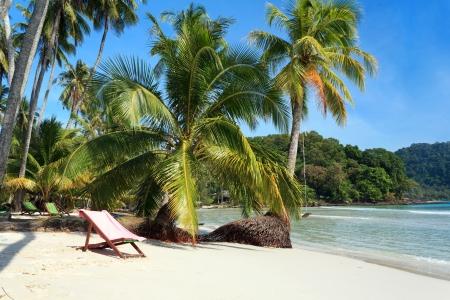 Beach on the Koh Kood island, Thailand Stock Photo