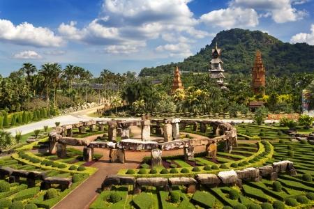 pattaya: Nong Nooch Garden in Pattaya, Thailand
