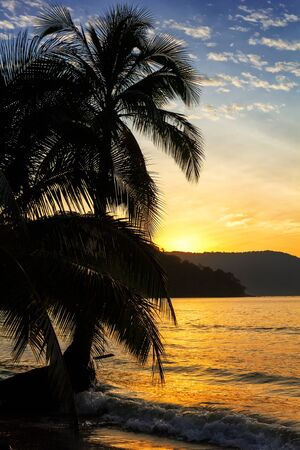 Sunrise on the Koh Kood island, Thailand photo