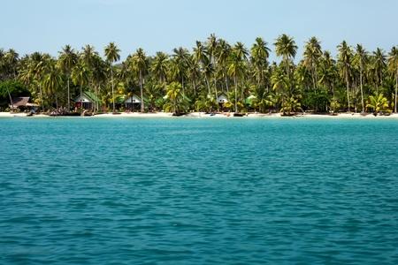 Beach on the Koh Kood island, Thailand photo