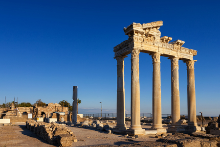 Temple of Apollo, Side, Turkey photo