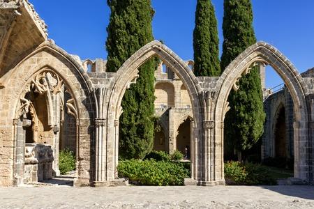 Bellapais Abbey near Kyrenia, Northern Cyprus