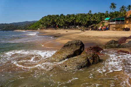Cola Beach, South Goa, India  photo