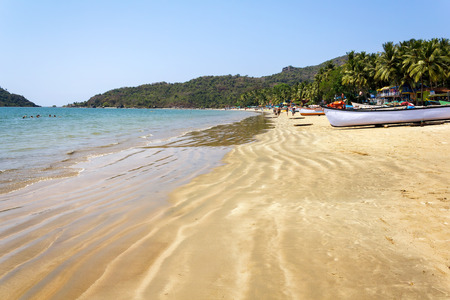 Palolem Beach, South Goa, India photo