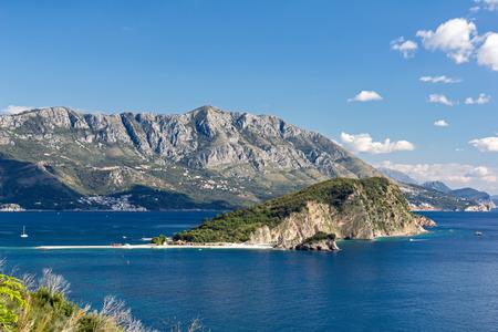 sveti: The Sveti Nikola island near Budva, Montenegro