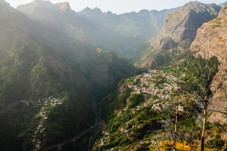 Curral das Freiras_Valley of the nuns_Madeira photo