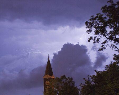 steeples: Chrrch Lightning