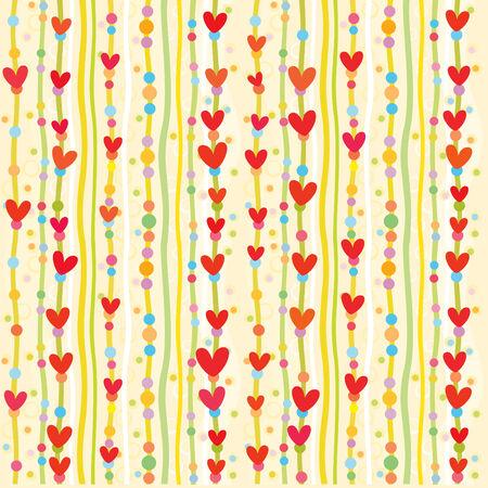 Heart background. Stock Vector - 4137989