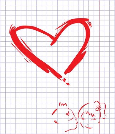 Heart. Stock Vector - 4144675