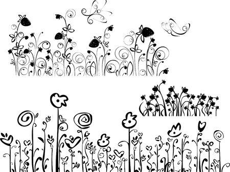 Patterns for design. Vector
