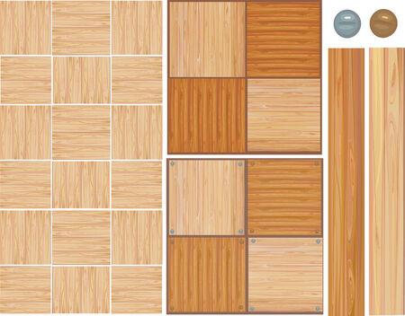 Wooden texture. Vector