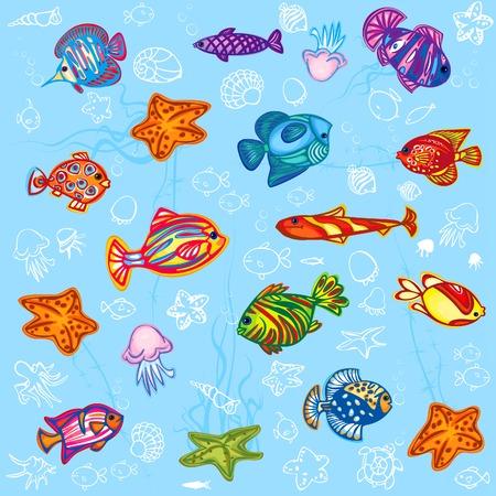 freshwater aquarium plants: Fish background.