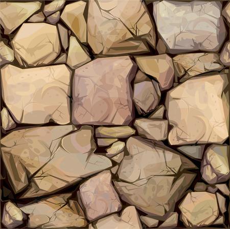 Nahtlose Textur der Steine