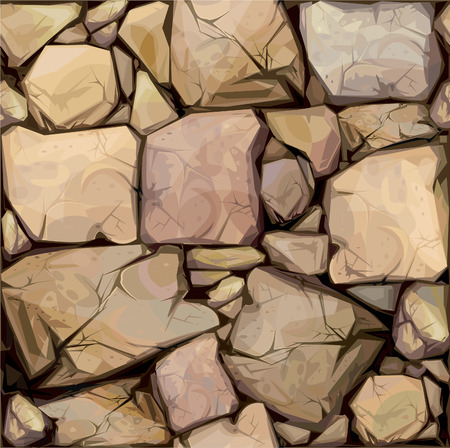 Seamless texture of stones Stock Vector - 7684982